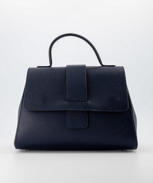 Marina - Classic Grain - Handtassen - Blauw - D26