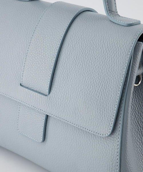 Marina - Classic Grain - Handtassen - Blauw - D92