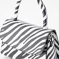 Fay - Classic Grain - Hand bags - White - Zebra - Gold