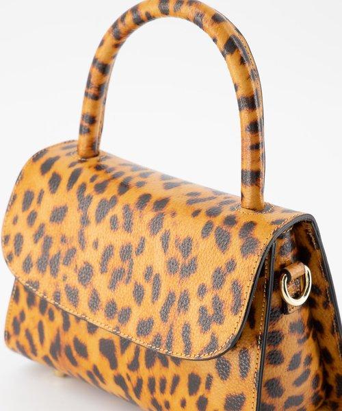 Nieuw Fay - Classic Grain - Handtassen - - Luipaard - Goudkleurig