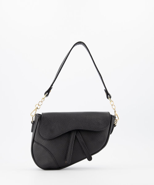 Gigi - Classic Grain - Crossbody bags - Black - D28