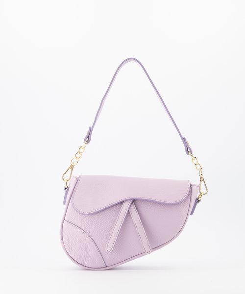 Gigi - Classic Grain - Crossbody bags - Purple - Lila