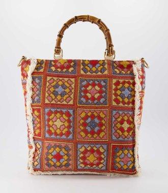 Amina - Sauvage - Hand bags - Granny -  - Gold