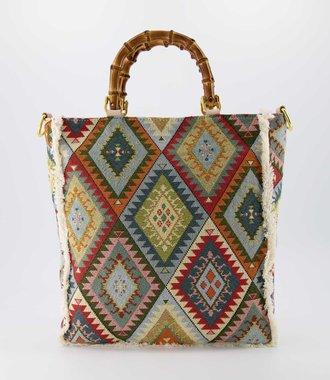 Amina - Sauvage - Hand bags - Aztec -  - Gold