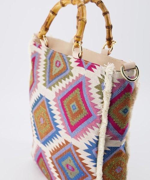 Amina - Sauvage - Hand bags - Blue -  - Gold