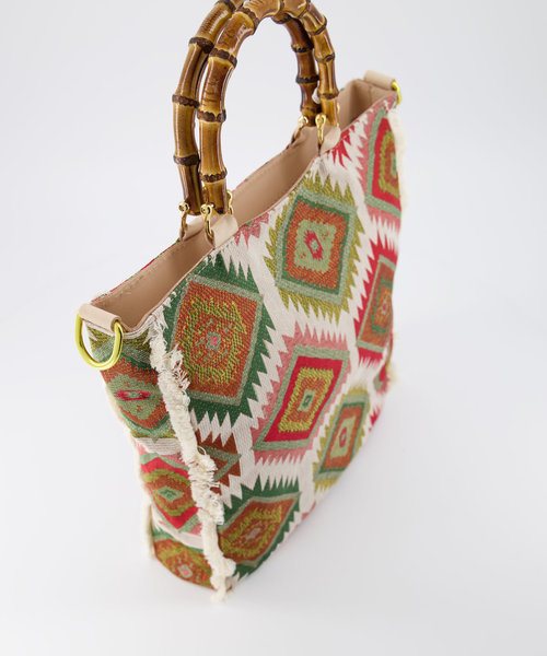 Amina - Sauvage - Hand bags - Green -  - Gold
