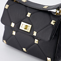 Isla - Sauvage - Crossbody bags - Black -  - Gold