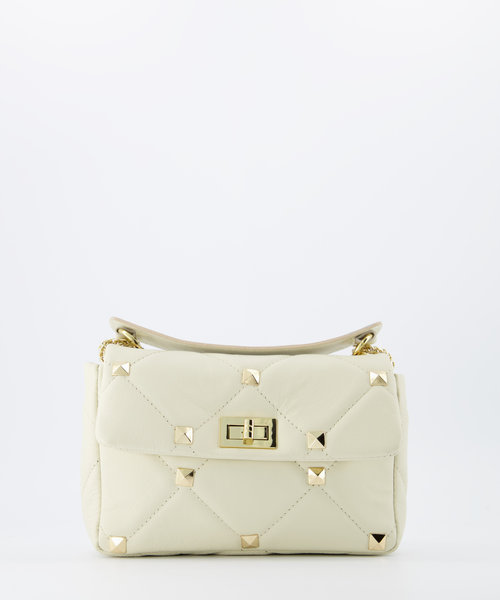 Isla - Sauvage - Crossbody bags - Ecru -  - Gold
