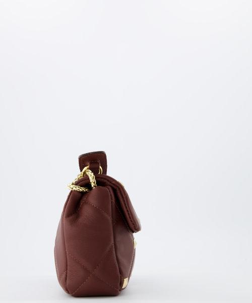 Isla - Sauvage - Crossbody bags - Brown -  - Gold