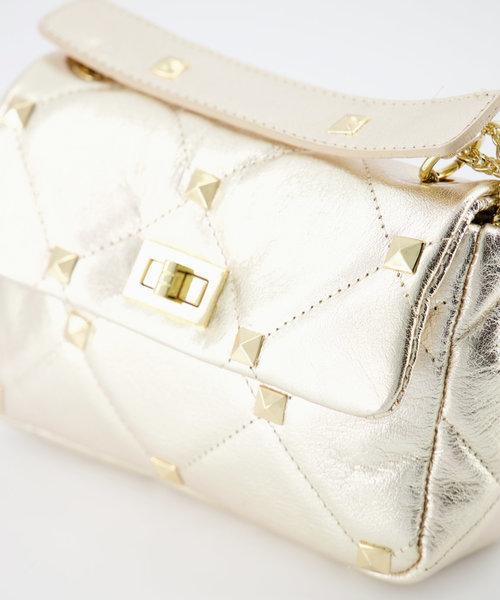 Isla - Metallic - Crossbody bags - Gold -  - Gold