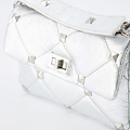 Isla - Metallic - Crossbody bags - Silver -  - Gold