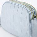 Nova - Croco - Crossbody bags - Blue - 47 - Gold