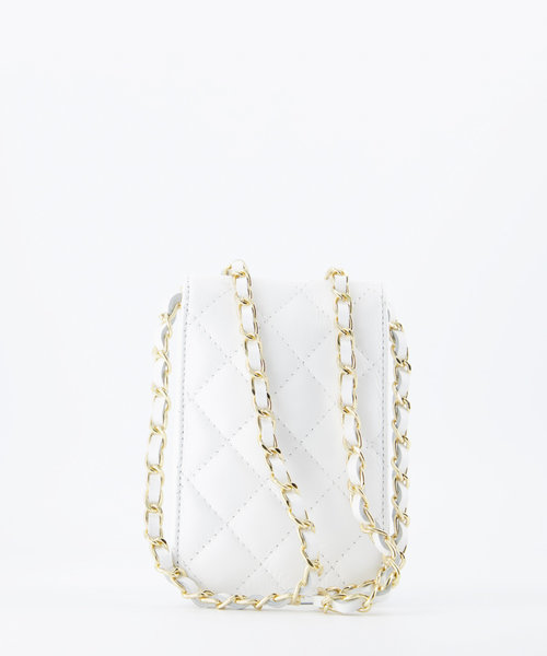 Daisy - Sauvage - Crossbody bags - White -  - Gold