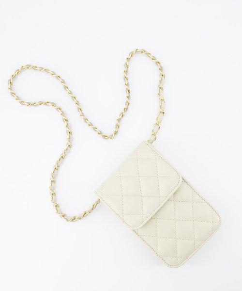 Daisy - Sauvage - Crossbody bags - Ecru -  - Gold