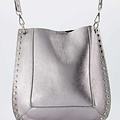 Charly - Classic Grain - Crossbody bags - Silver -  - Gold