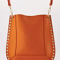 Charly - Classic Grain - Crossbody bags - Orange - D29 - Gold