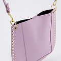 Charly - Classic Grain - Crossbody bags - Paars - D55 - Gold
