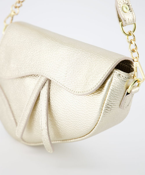 Nieuw Gigi - Classic Grain - Crossbody bags - - Goud - Gold