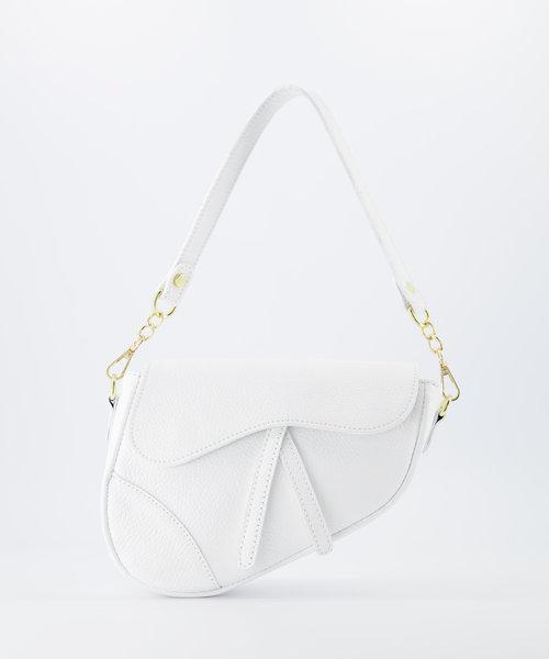 Nieuw Gigi - Classic Grain - Crossbody bags - White - D01 - Gold