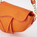 Gigi - Classic Grain - Crossbody bags - Orange - D29 - Gold