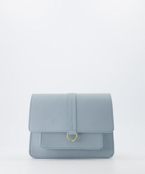 Charlotte - Classic Grain - Crossbody bags - Blue - D92 - Gold