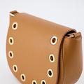 Christine - Classic Grain - Crossbody bags - Brown - D44 - Gold