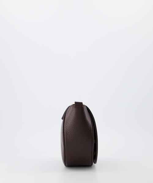 Christine - Classic Grain - Crossbody bags - Brown - D23 - Gold