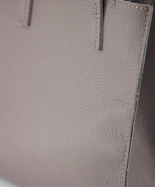Natalie - Classic Grain - Hand bags - Grey - D77 - Bronze