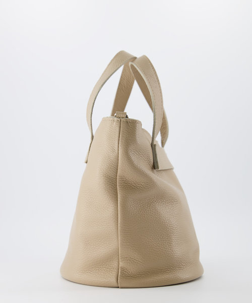 Rose - Classic Grain - Hand bags - Taupe - D05 - Gold