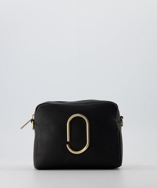 Jacine - Classic Grain - Crossbody bags - Black - D28 - Gold
