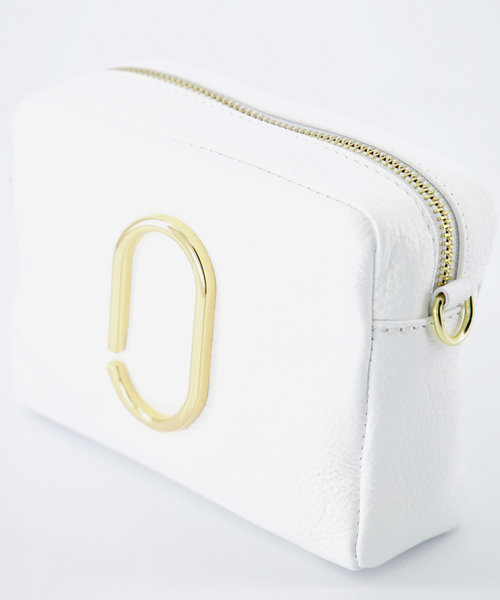 Jacine - Classic Grain - Crossbody bags - White - D01 - Gold