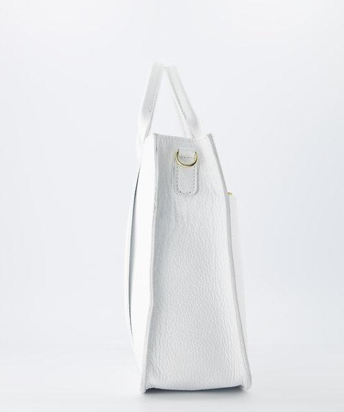 Amalia - Classic Grain - Hand bags - White - D01 - Gold