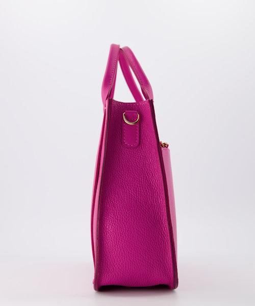 Amalia - Classic Grain - Hand bags - Pink - D02 - Gold