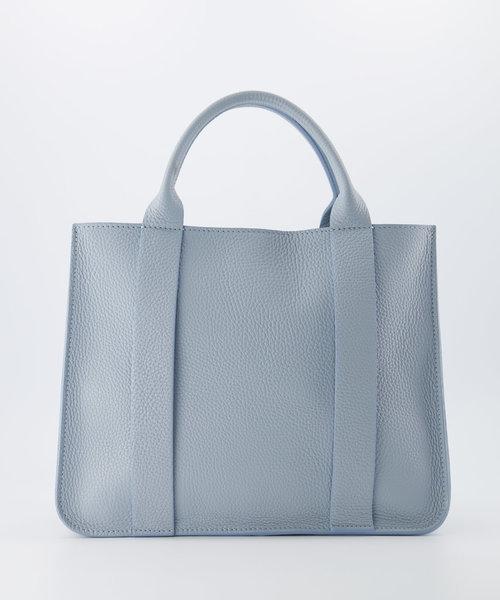 Amalia - Classic Grain - Handtassen - Blauw - D92 - Goudkleurig