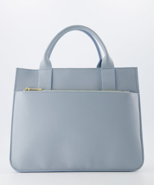 Amalia - Classic Grain - Hand bags - Blue - D92 - Gold