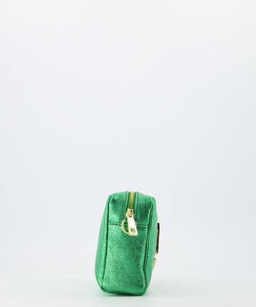 Jacine - Metallic - Crossbody bags - Green - 26L - Gold