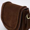 Chelsea - Suede - Crossbody bags - Brown - 7 - Bronze