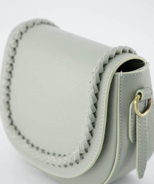 Chelsea - Classic Grain - Crossbody bags - Green - T02 - Bronze