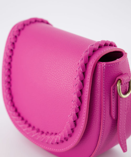 Chelsea - Classic Grain - Crossbody bags - Pink - D02 - Bronze