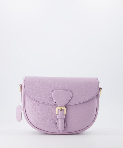 Bobbie - Classic Grain - Crossbody bags - Purple - D55 - Gold