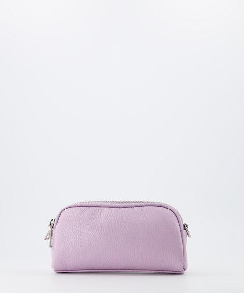 Teri - Classic Grain - Crossbody bags - Purple - D55 - Silver