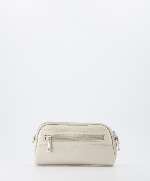 Teri - Classic Grain - Crossbody bags - Beige - D37 - Silver