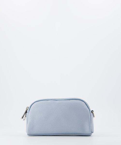Teri - Classic Grain - Crossbody bags - Blue - D92 - Silver