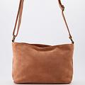 Karin - Suede - Crossbody bags - Pink - 62 - Bronze