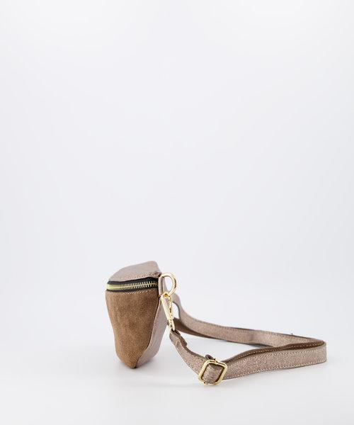 Zoey - Metallic - Heuptassen - Brons/Taupe -  - Goudkleurig