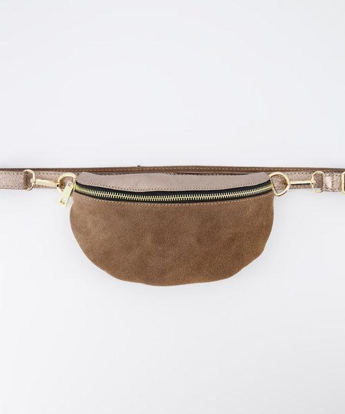 Zoey - Metallic - Bum bags -  -  - Gold