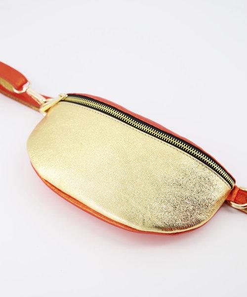 Zoey - Metallic - Heuptassen - Goud/Oranje -  - Goudkleurig
