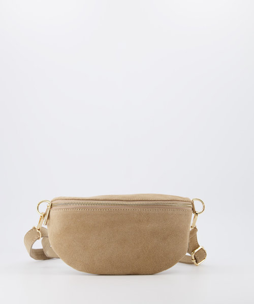 Zoey - Suede - Bum bags - Sand - 4 - Gold