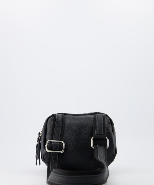 Ginny - Classic Grain - Crossbody bags - Black - D28 - Silver