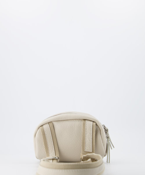 Ginny - Classic Grain - Crossbody bags - Beige - D37 - Silver